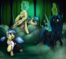 Interview with a changeling (commission) by donoguad