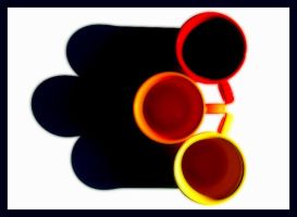 3 Cups and Shadow by robgbob