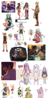 Major tumblr dump June-July '14 by Malacandrax