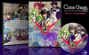 DVD Cover: Code Geass R2 by N1z1ra