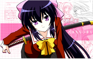 Omamori Himari Anime Wallpaper by teXtreme