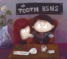 [Commission] Tooth Bsns by Yellyy