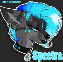 Spectra Headshot~ by Gradiewoof
