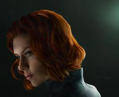 Black Widow by ThreshTheSky