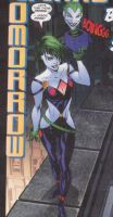 Duela Dent SCANNED FOR KFAD by MustardDrunkStarfire
