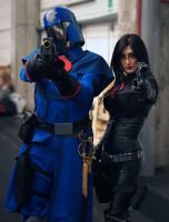 Cobra Commander and The Baroness by RoyallyCrimson
