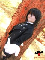 Sebastian Michaelis - Female Version by DarkTeshii