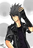 Noctis New Shirt 8D by FlameWolx