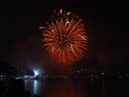 Fleet Review Fireworks 11 by BrendanR85