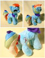 Itty Bitty Rainbow Dash by FollyLolly