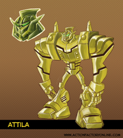 Attila, Armored Warrior by Shin-Herobot