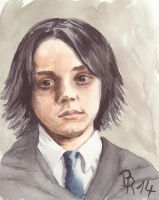 young Severus Snape by LoonaLucy