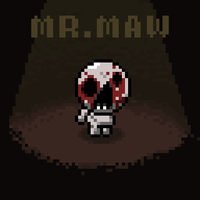The 8-bit of Isaac: Mr. Maw by megablast