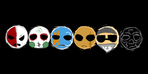 Notes from the Underground Mask Icons by ScenikART
