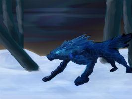 Ice Wolf Revised by octobomb