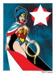 Wonder Woman White Star by TomKellyART