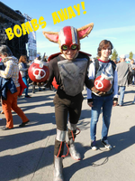 Ziggs cosplay - Bombs away by Lynus-the-Porcupine