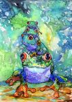 Stack O Frogs by Onyana