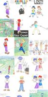 Old Art Dump 11 - Mario Golf by t3h-puppeteer
