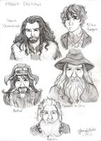 Hobbit Sketches by naomi-makes-art73