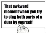 Forever Alone Duet by Ask-Forever-Alone