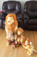 All my Mufasa plushies by Laurel-Lion