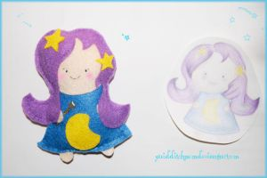 moon fairy plushie by quidditchmom