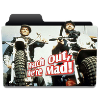 Watch Out, We're Mad (1974) folder icon version 2 by Zsotti60