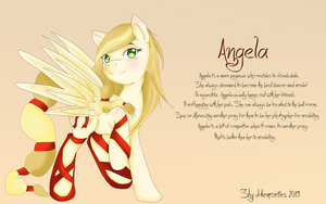 Mlp FiF OC : Angela by ShyMemories