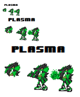 Plasma The Hedgehog by TechM8