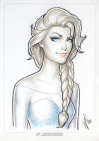 Elsa SDCC'14 by WarrenLouw