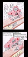 The Life of an off Duty Mecha Medic Pg1 (colored) by SamuraiKnight