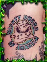 Mighty Ducks by DesignTheSkinYourIn