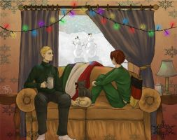 [Secret Santa 2012] Cozy Christmas by HeroicPlights
