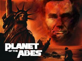 Planet Of The Abes by drinkgreenwater