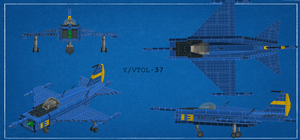 Y/VTOL-37 by Salfaromeab