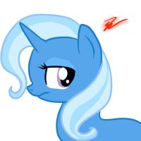 Trixie Not Amused by ZoruaAWESOME