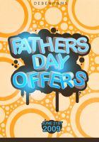 Father's Day Promotion by Icono-Graphic
