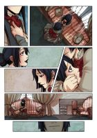 Nesty - comic page test by Moemai
