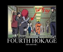 Fourth Hokage? by CoolShazza
