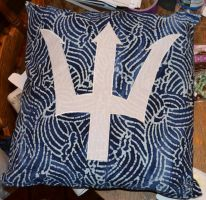 Percy Jackson Pillow by olivia808