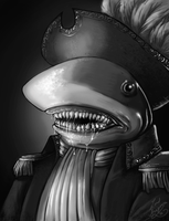 Captain Shark by Lord-Aragoon