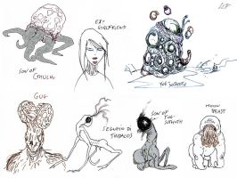 I LOVEcraft by dcf