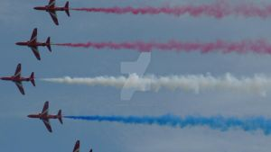 Red Arrows by MadameMalaki