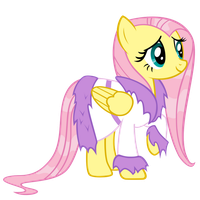 Fluttershy Wet by Angel-the-Bunny