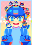 27th anniversary Rockman! by xen1231