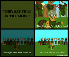 They say that in the Army 1 by FirstAwesomePlatoon