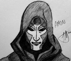 Amon: Legend of Korra by GateMasterGreen