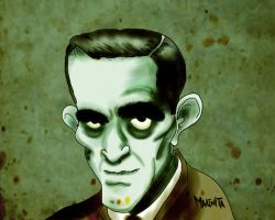 Boris Karloff By Makinita by Makinita