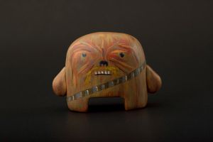 Chewie Front by karmabomb1